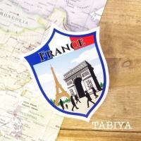 旅屋オリジナル Country Sticker France/フランス